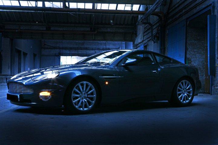 Aston Martin Vanquish - BlueChip Car Hire