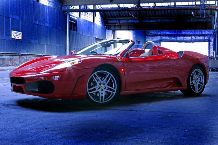 Ferrari 430 Spider - BlueChip Car Hire