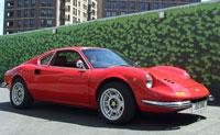 Ferrari Dino bluechip hire