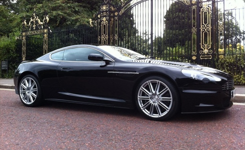 Aston Martin rent in London