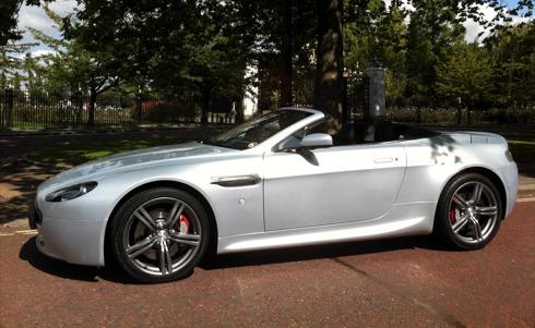 Aston Martin Aston Martin V8 Vantage Roadster N400 Ltd. Ed. car hire