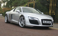 Audi R8 for hire