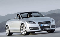 Audi TT Raodster to hire