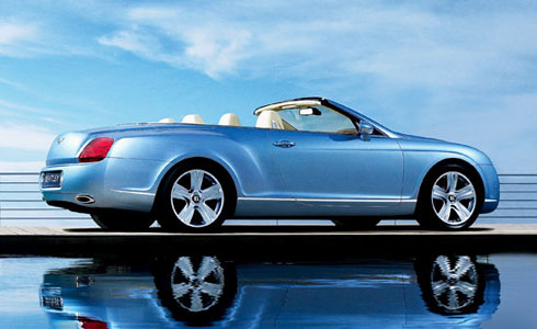 Bentley on Bentley Gtc  Sports Car Hire In London   Bluechip Car Hire