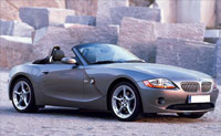 BMW Z4 for hire