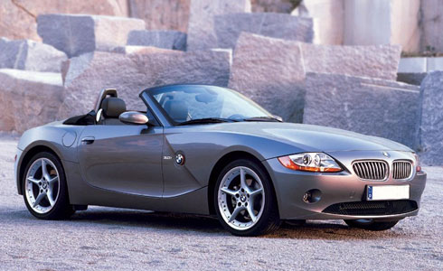Bmw Z4 Series Car Hire Bluechip Prestige Car Hire