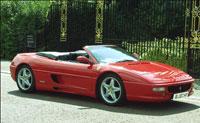Ferrari 355 for hire