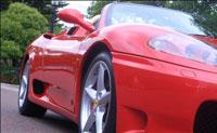 Ferrari 360 for hire