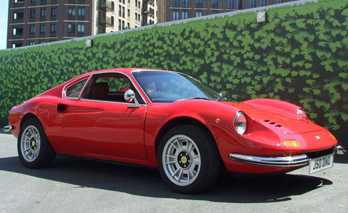Ferrari Dino Hire Uk Sports Car Hire Bluechip