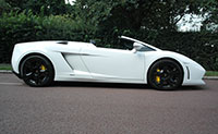 lamborghini LP560-4 spyder to hire