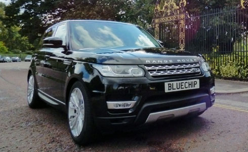 range rover sport hire bluechip car hire. Black Bedroom Furniture Sets. Home Design Ideas