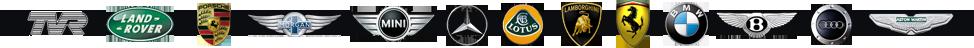 bluechip car hire, Ferrari, Aston martin, tvr, Lamborghini